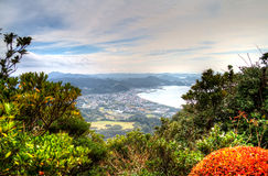 From Mt Nokogiri. Royalty Free Stock Image