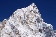 Mt. Nupse 7864m van Kalapattar, 5545m Royalty-vrije Stock Afbeeldingen