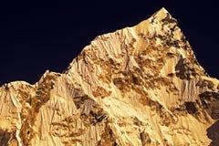 Mt. Nuptse Stock Fotografie