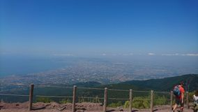 Mt o Vesúvio Imagem de Stock Royalty Free