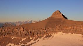Mt Oldenhorn alla luce dorata di sera Fotografie Stock