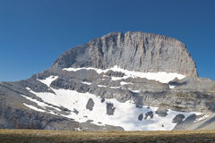 Mt. Olymp in Griechenland lizenzfreie stockfotografie