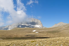 Mt. Olympus in Greece. The 'Muses' plateau Royalty Free Stock Image