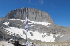 Mt. Olympus in Greece. 'Stefani' peak Royalty Free Stock Image