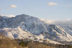 Mt. Olympus, Utah Royalty-vrije Stock Foto's