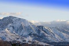 Mt. Olympus, Utah Royalty-vrije Stock Afbeeldingen