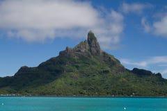 Mt. Otemanu in Bora Bora Stock Image