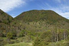 Mt Paisaje de Sajiki en Japón Fotografía de archivo libre de regalías