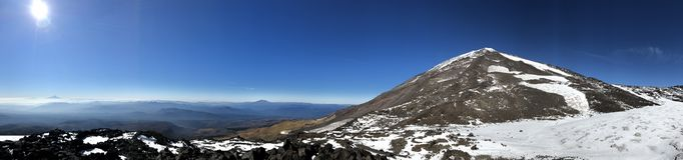 Mt Panorama d'Adams image stock