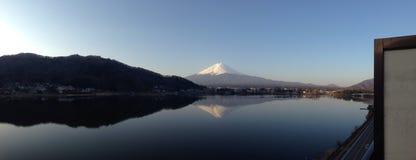Mt (Panorama-) Fuji, Arkivbild