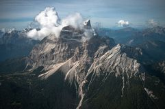 Mt Pelmo Fotografia de Stock Royalty Free
