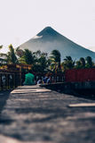 Mt Phillipines di MAYON l'Albay Fotografie Stock
