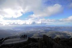 Mt Picco di Wellington in Hobart Tasmania Australia Fotografia Stock