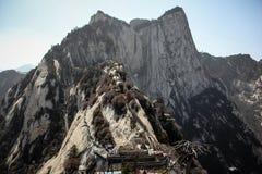 Mt Pico del oeste de Huashan Fotos de archivo libres de regalías