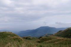 Mt Pico principal de Qixing no parque nacional de Yangmingshan Imagem de Stock Royalty Free