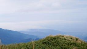 Mt Pico principal de Qixing no parque nacional de Yangmingshan Imagens de Stock