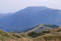 Mt Pico principal de Qixing no parque nacional de Yangmingshan Imagens de Stock Royalty Free