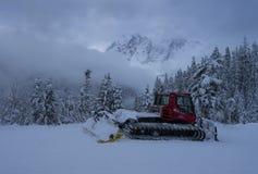 Mt Piekarniany narciarski teren fotografia stock
