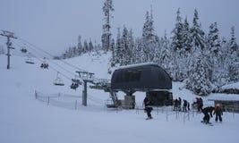 Mt Piekarniany narciarski teren zdjęcie royalty free