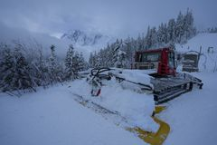 Mt Piekarniany narciarski teren obraz royalty free