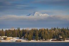 Mt Piekarz w Wintertime Fotografia Stock