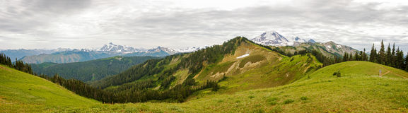 Mt. Piekarz, Waszyngton, usa. Fotografia Royalty Free