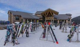 Mt piekarza ośrodek narciarski zdjęcie royalty free