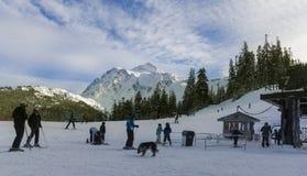 Mt piekarza ośrodek narciarski zdjęcie stock