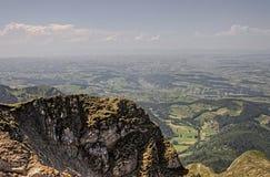 Mt Pilatus популярное туристское назначение в европейской стране Швейцарии стоковая фотография