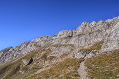 Mt. Pilatus in autumn Royalty Free Stock Images
