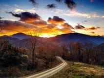 Mt. Pisgah Autumn Sunrise royalty free stock image