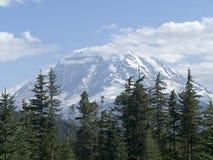 Mt. Plus pluvieux Image stock