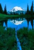 Mt Plus pluvieux, Washington State Photos libres de droits