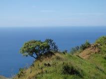 Mt Pundaquit e mar delle Filippine ad ovest Fotografie Stock