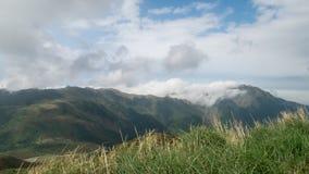 Mt. Qixing main peak in Yangmingshan National Park, Taiwan. Royalty Free Stock Photos