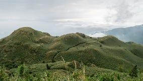Mt. Qixing main peak in Yangmingshan National Park, Taiwan. Stock Photo