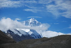 Mt qonolangma (everest) Stock Photos
