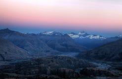 Mt que aspira, Nova Zelândia imagens de stock