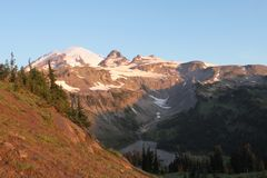 Mt Rainer royalty free stock photos