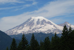 Mt. Rainier Royalty Free Stock Photo