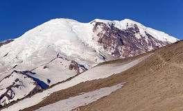 Mt. Rainier from Burroughs Mountain Royalty Free Stock Photos