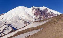 Mt. Rainier from Burroughs Mountain Royalty Free Stock Photos