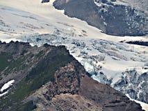 Mt Rainier Close herauf Schuss Stockfotos