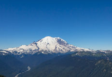 Mt Rainier Royalty Free Stock Image