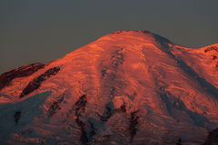 Mt.Rainier Royalty Free Stock Photography