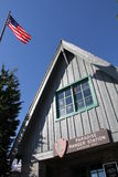 Mt Rainier Ranger Station Stock Photography