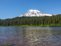 Mt Rainier Royalty Free Stock Photos