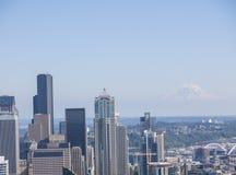 Mt Rainier Seattle Stock Photo