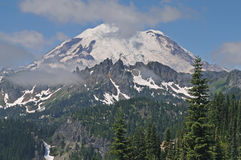 Mt. Ranier Royalty Free Stock Image