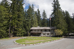 Mt Ranier Historic Gas Station Stock Image